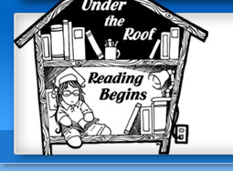 Under the Roof Reading Begins